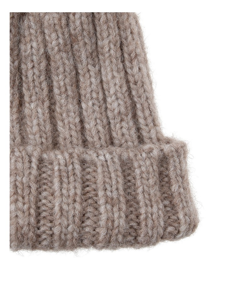 DUFFY Cable Knit Beanie 2821 image 2