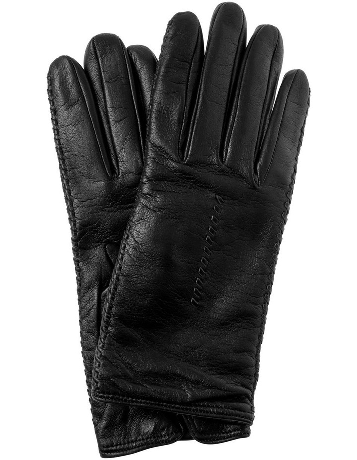 Side Stitching Leather Gloves image 1