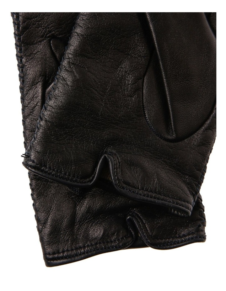 Side Stitching Leather Gloves image 2