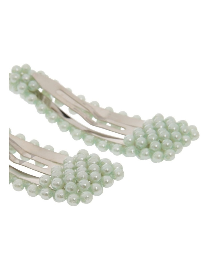 2 Pack Pearl Snap Clips image 2