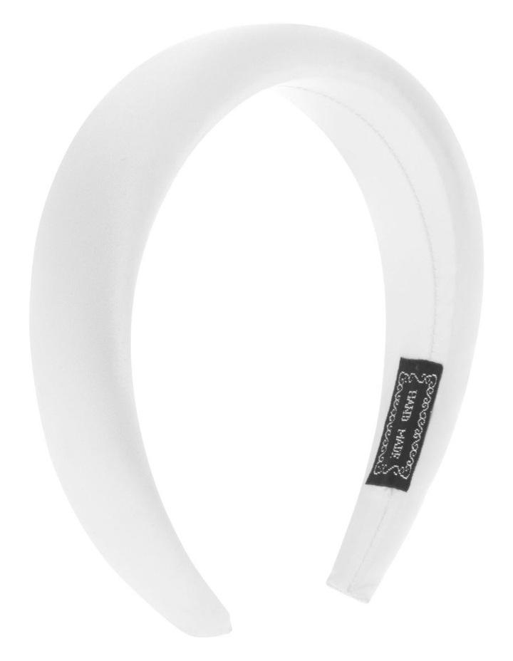 3cm Padded Satin Headband image 2