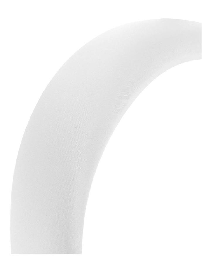 3cm Padded Satin Headband image 3