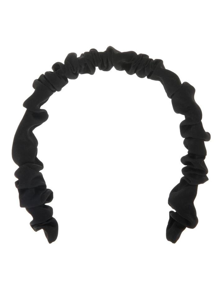 Ruched Satin Headband image 1