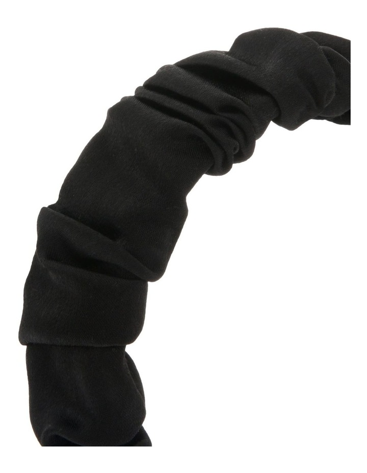 Ruched Satin Headband image 3
