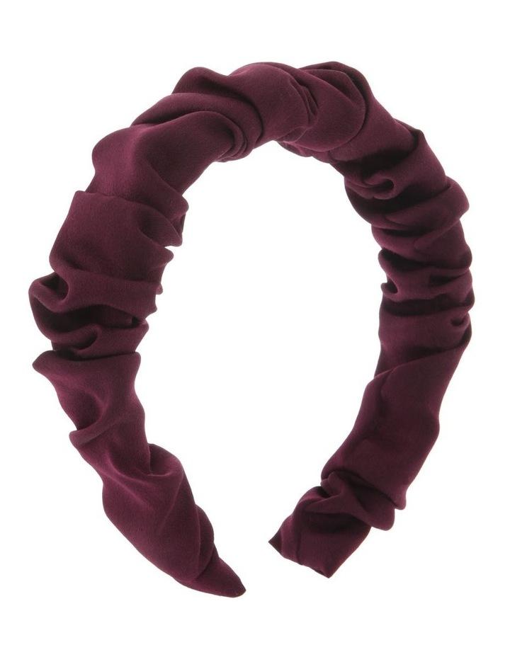 Ruched Satin Headband image 2
