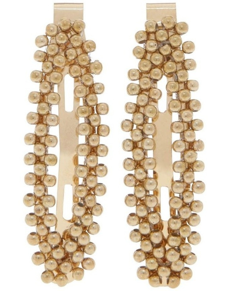 2 Pack Beaded Snap Clip image 1