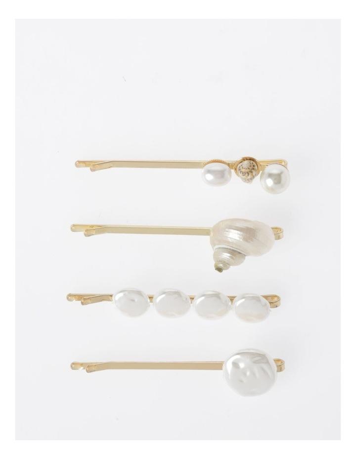 Pearl Pins 4Pk Hair Accessory image 1