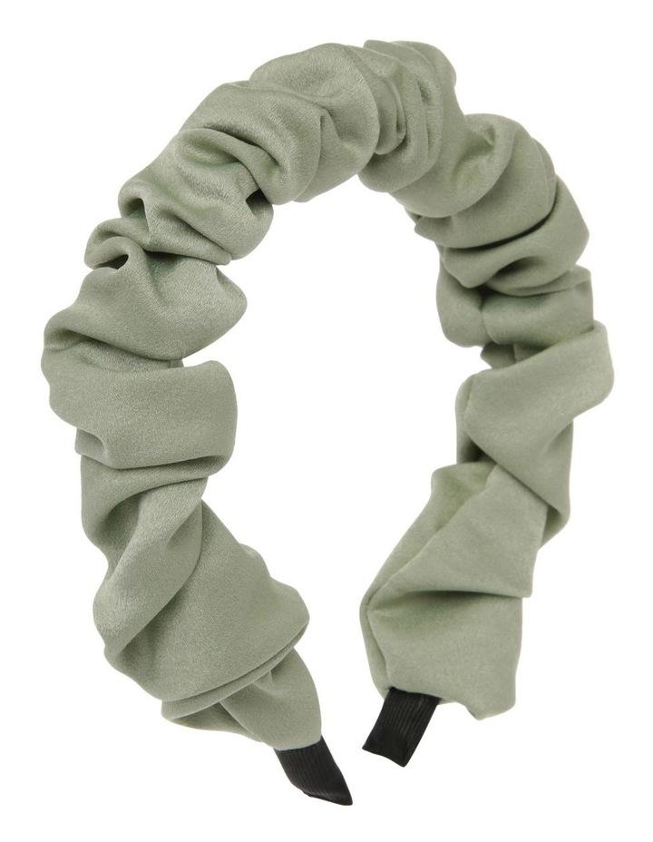 Ruched Fabric Headband image 2
