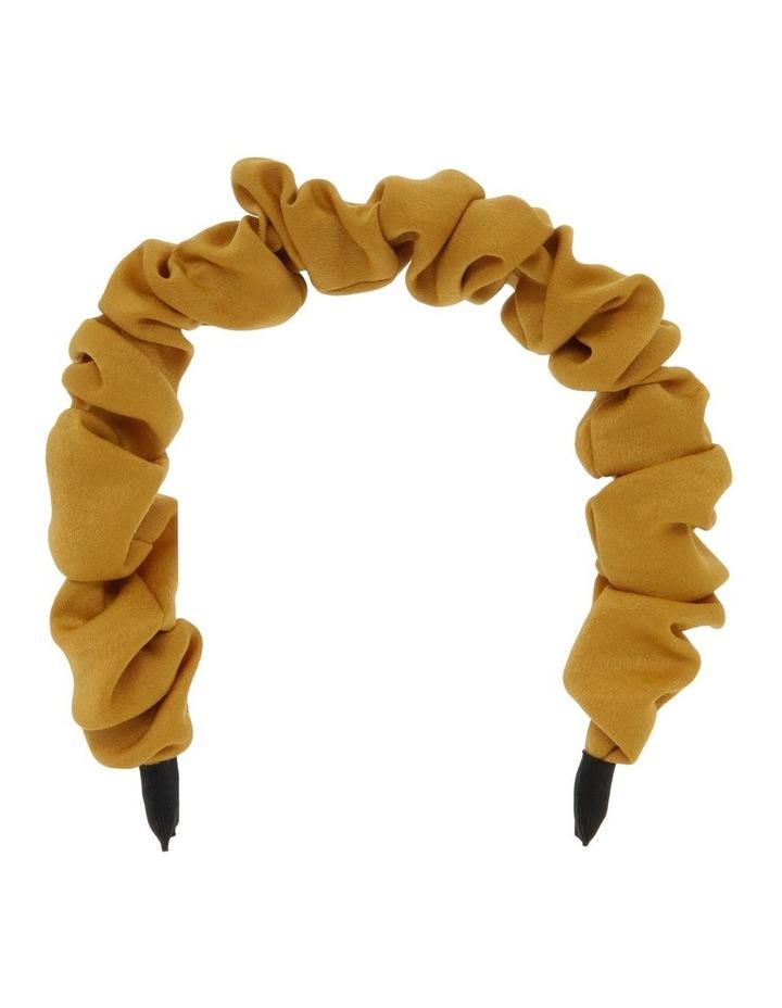 Ruched Fabric Headband image 1