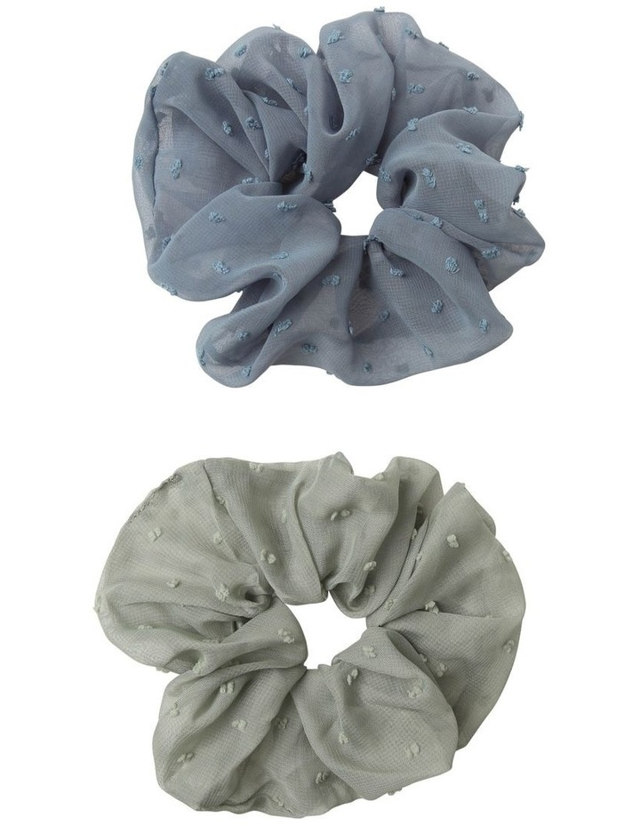 Sheer Scrunchie 2 Pack Hair Accessory image 1