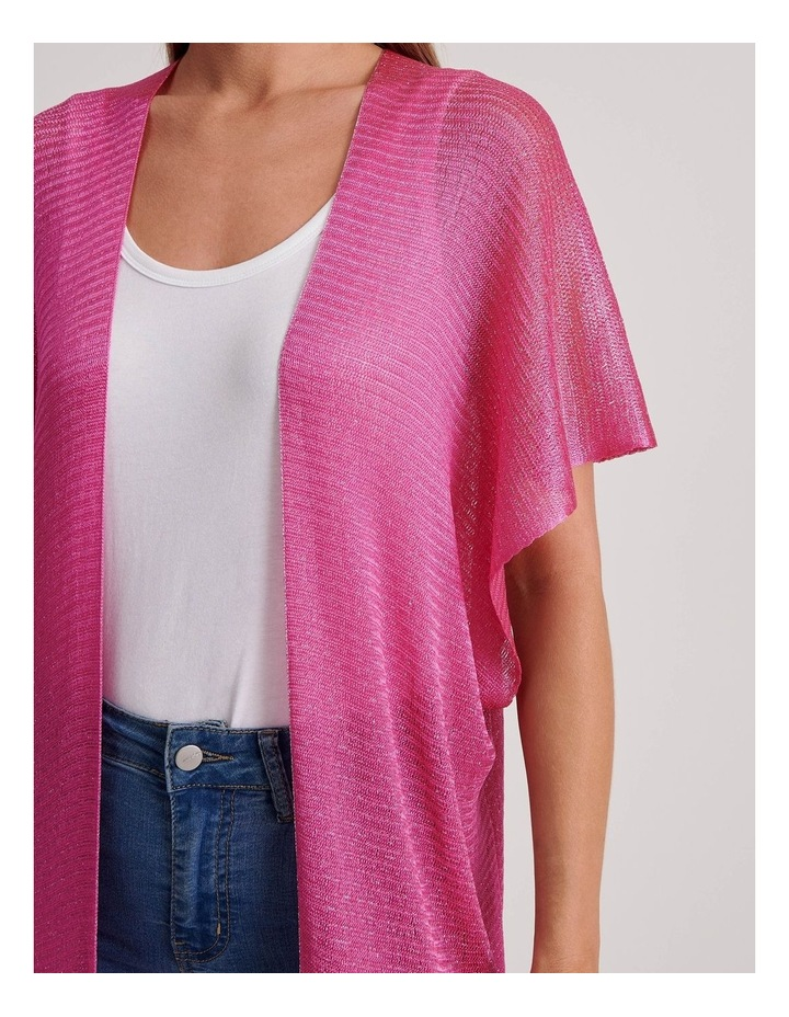 Innovare Made in Italy Fringed Loom Open Kaftan image 3