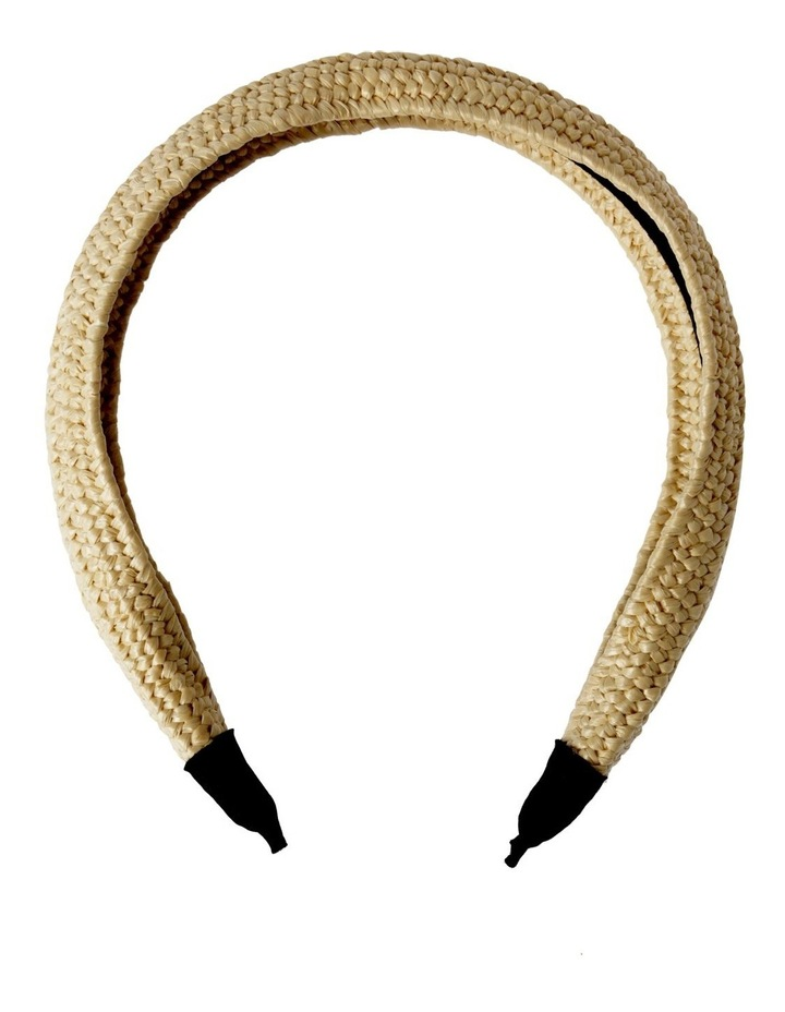 Natural Weave Headband Hair Accessory image 1
