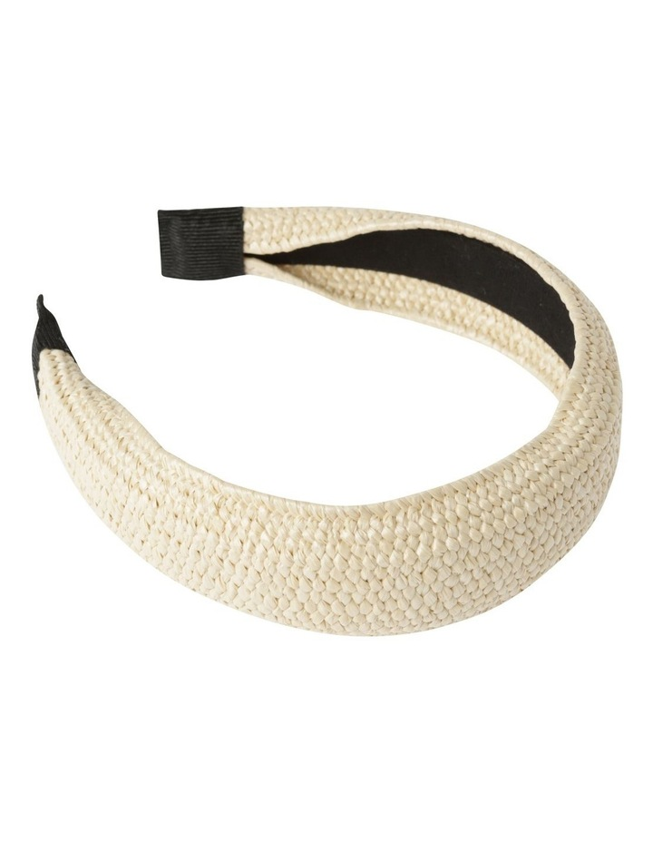 Natural Weave Headband Hair Accessory image 2