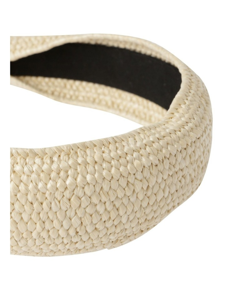 Natural Weave Headband Hair Accessory image 3