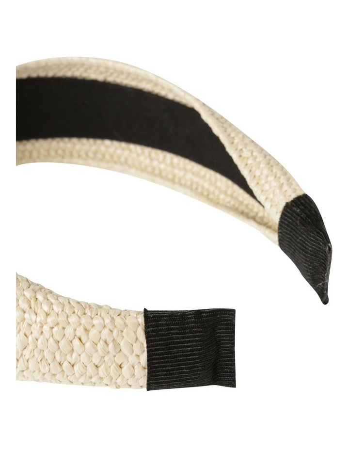 Natural Weave Headband Hair Accessory image 4