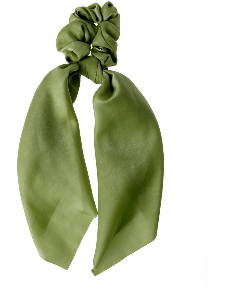 Large Plain Scrunchie Tie Hair Accessory image 1