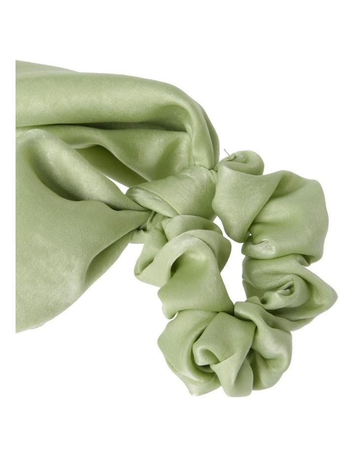 Large Plain Scrunchie Tie Hair Accessory image 2