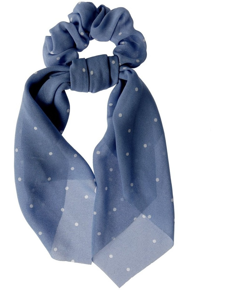 Large Polka Dot Scrunchie Tie Hair Accessory image 1