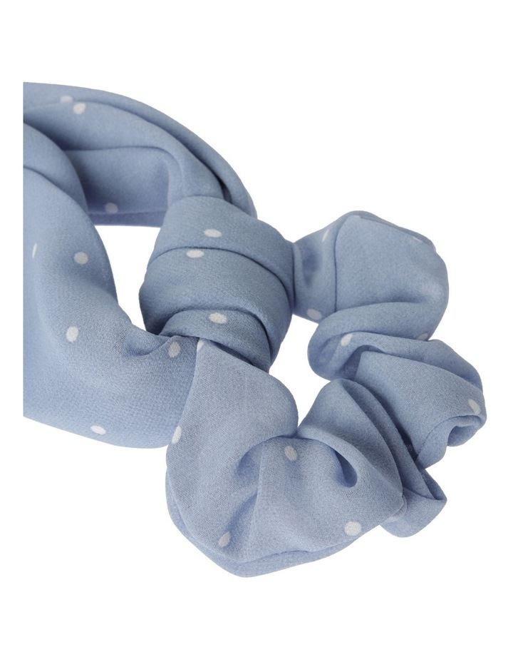Large Polka Dot Scrunchie Tie Hair Accessory image 2