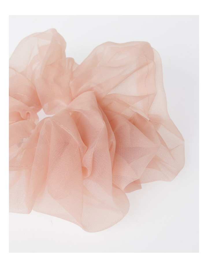 Oversized Sheer Scrunchie Hair Accessory image 2