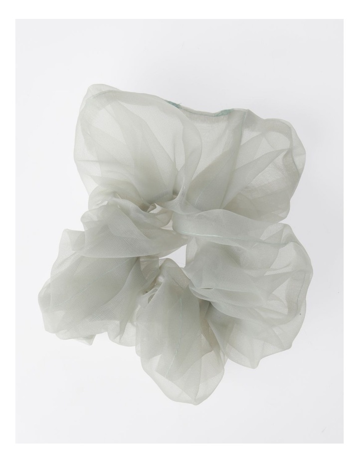 Oversized Sheer Scrunchie Hair Accessory image 1