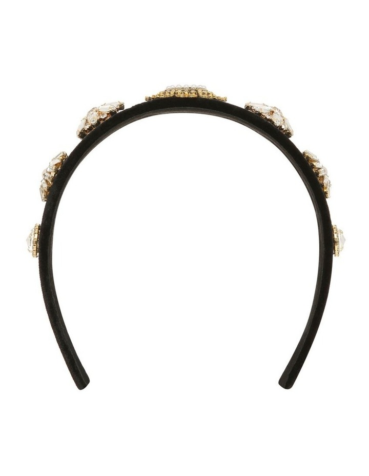 Pearl And Diamonte Flower Headband Hair Accessory image 1