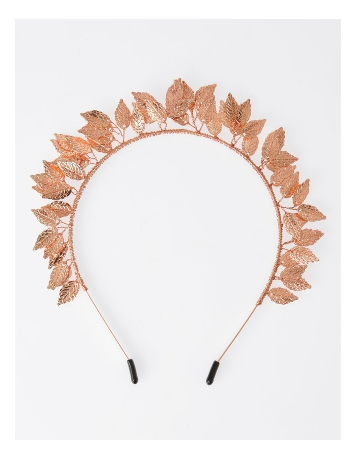 Rose Gold Leaf Headband Hair Accessory image 1