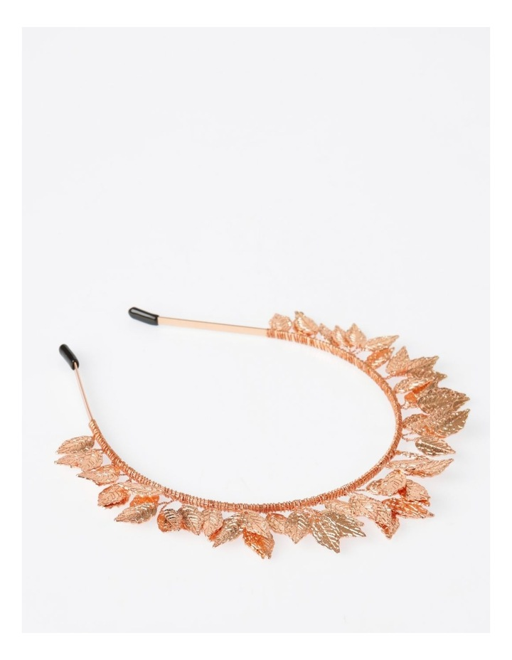 Rose Gold Leaf Headband Hair Accessory image 2