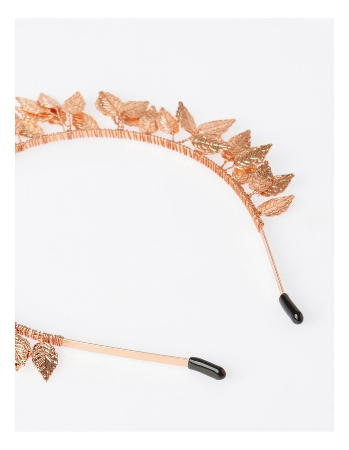 Rose Gold Leaf Headband Hair Accessory image 3