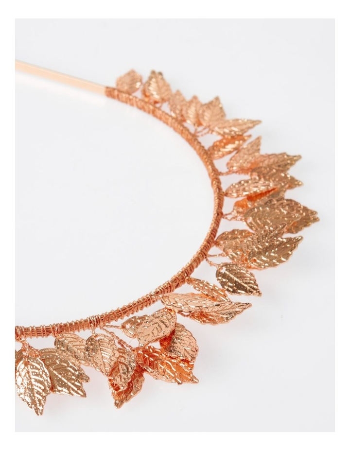 Rose Gold Leaf Headband Hair Accessory image 4