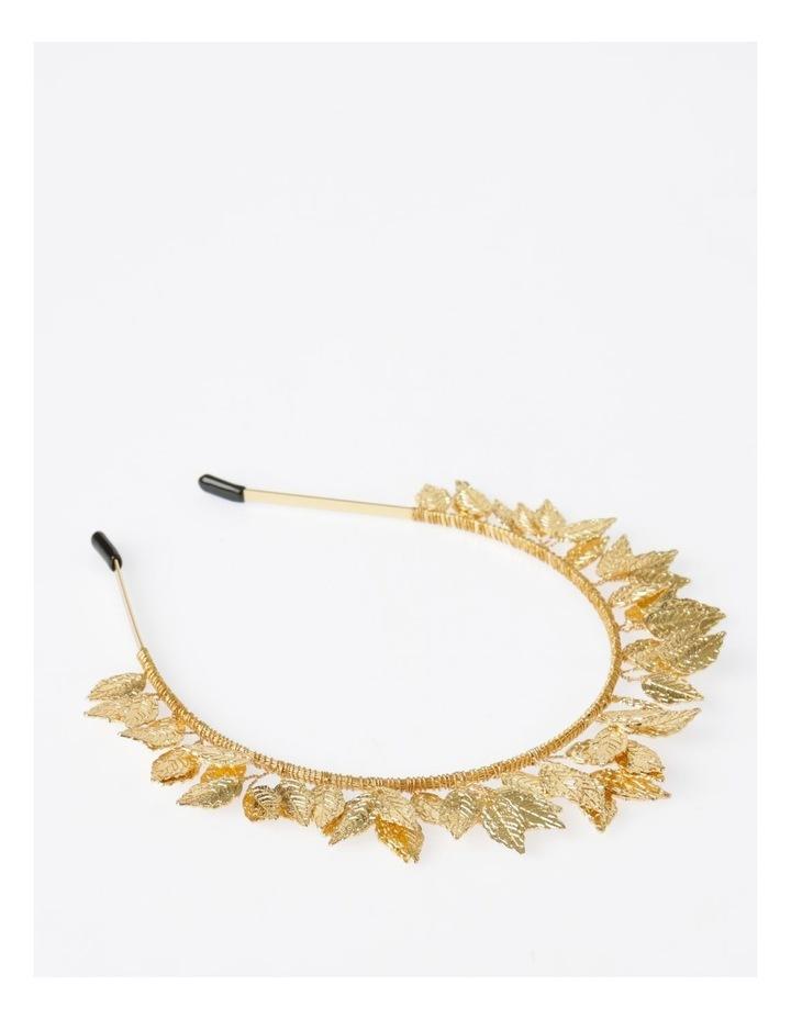 Rose Gold Leaf Headband Hair Accessory image 2