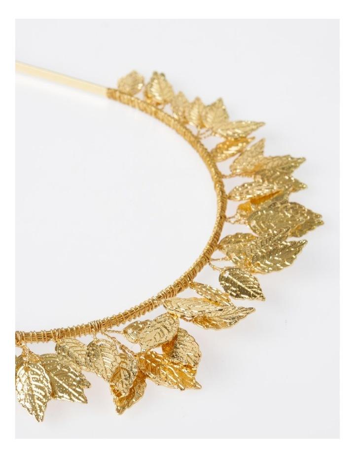 Rose Gold Leaf Headband Hair Accessory image 4