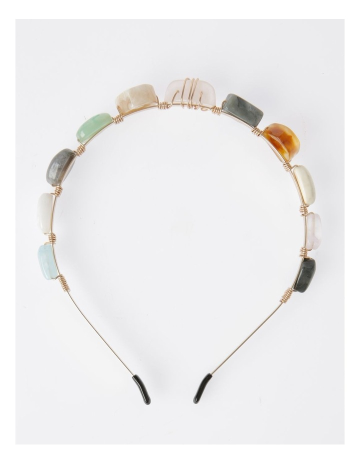 Coloured Stone Headband image 1