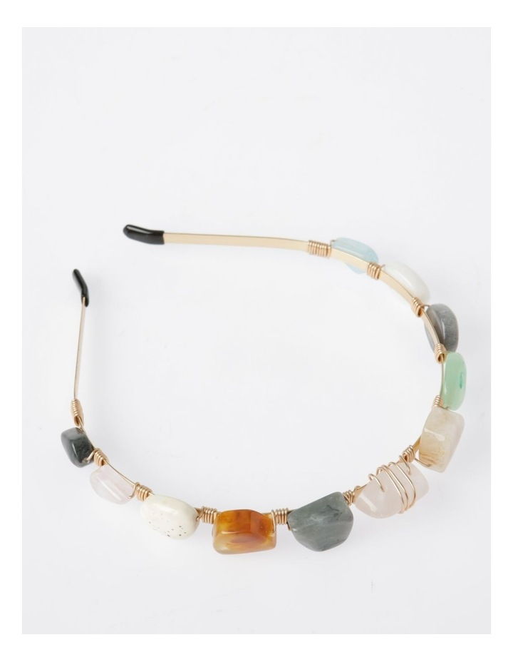 Coloured Stone Headband image 2