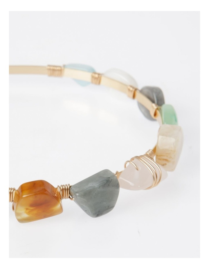 Coloured Stone Headband image 3