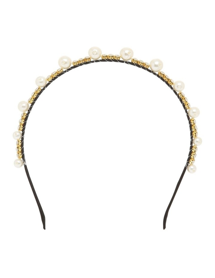 Large Pearl Hair Accessory image 1
