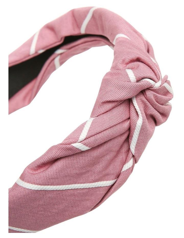 Striped Knot Headband image 2