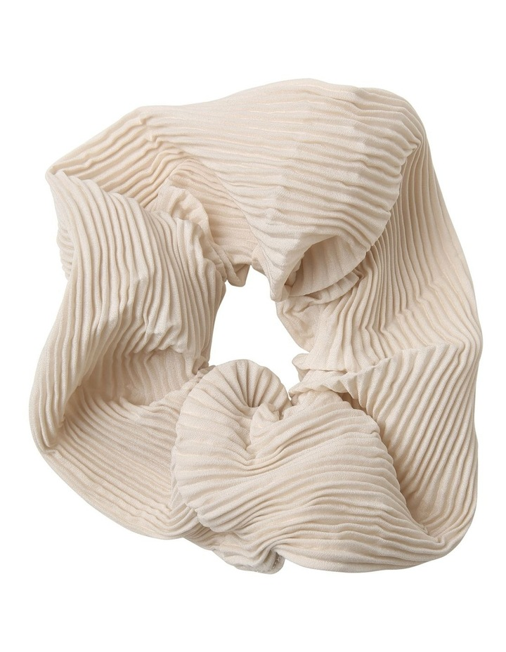 Oversized Pleated Scrunchie image 1