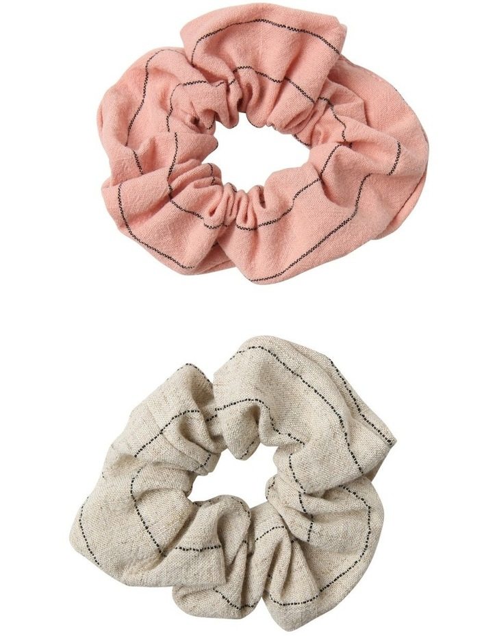 2 Pack Soft Scrunchie image 1