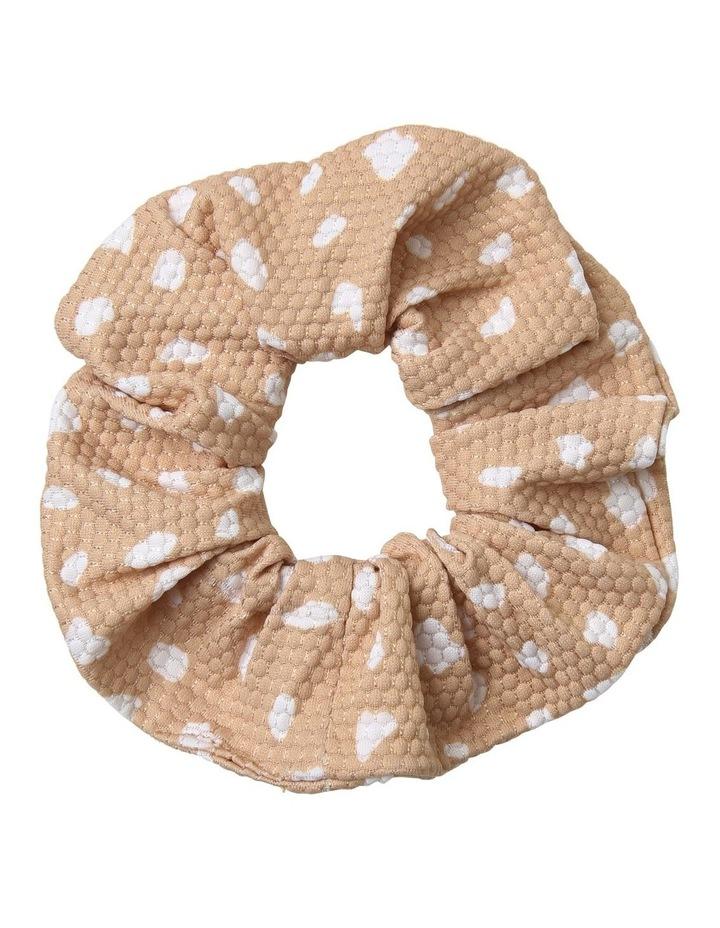 Textured Spot Scrunchie image 1