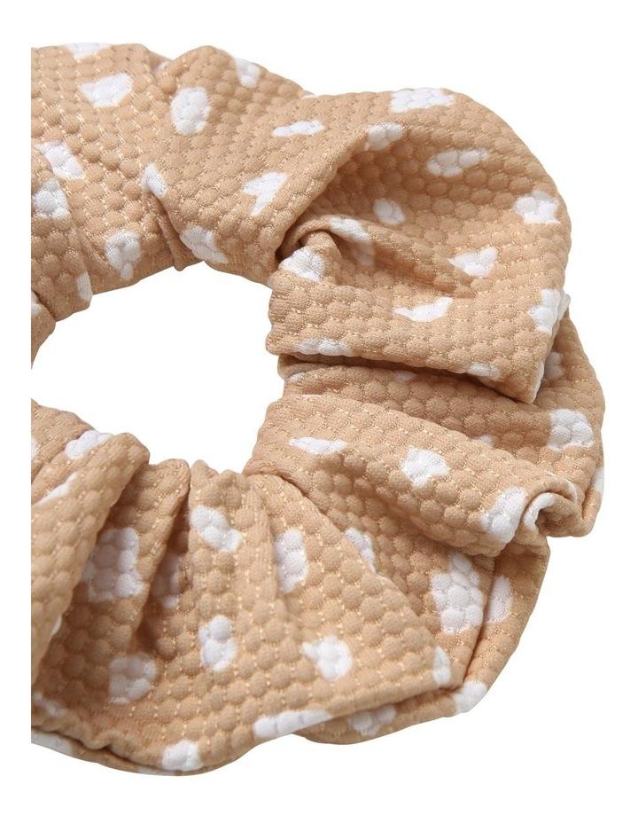 Textured Spot Scrunchie image 2