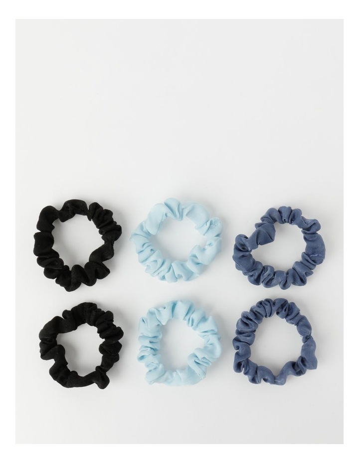 Small Scrunchies 6Pk Hair Accessory image 2