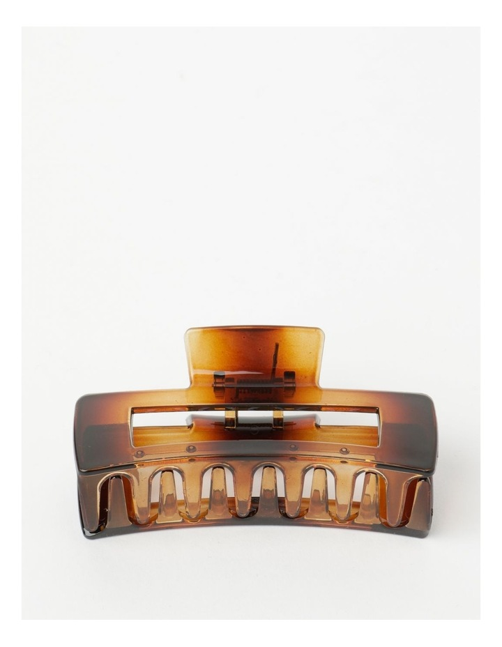 Extra Large Claw Clip in Tortoiseshell image 1
