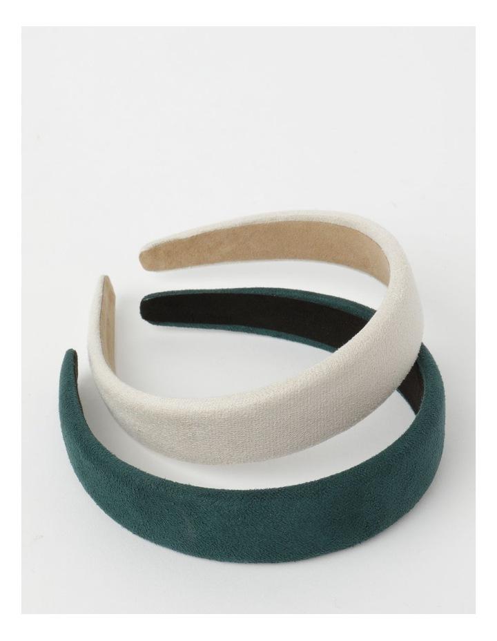 2-Pack Assorted Plain Headbands image 1