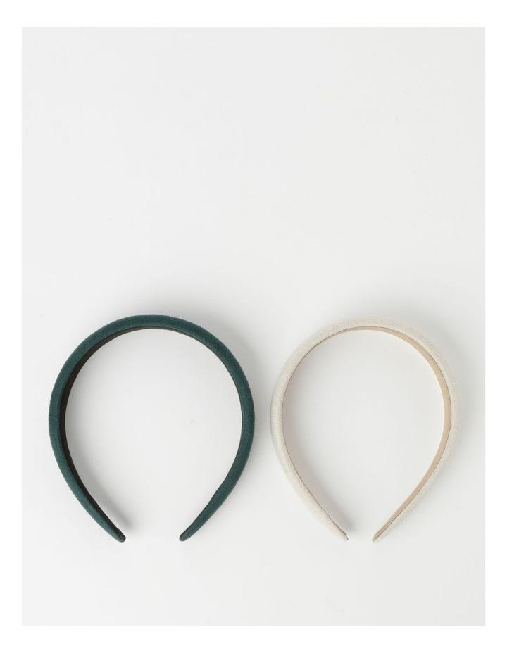 2-Pack Assorted Plain Headbands image 2