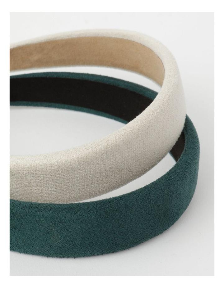 2-Pack Assorted Plain Headbands image 3