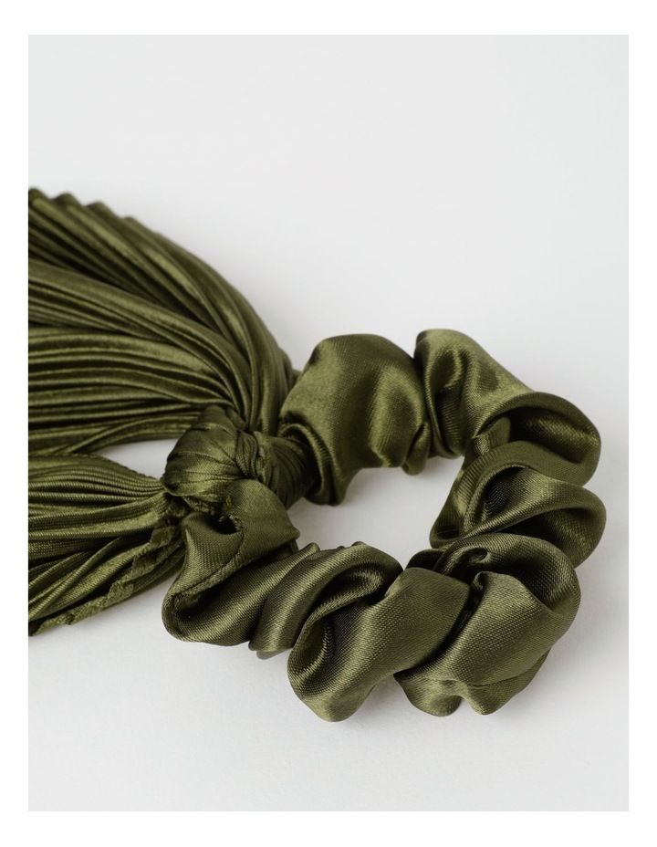 Scrunchie With Large Tie Hair Accessory image 2