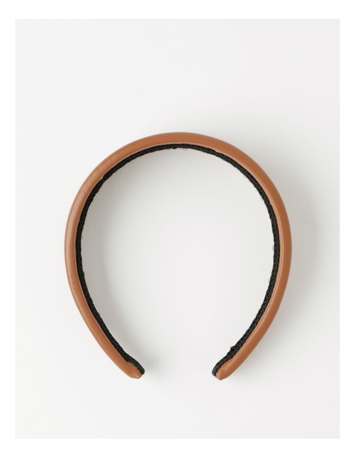 Leather Look Headband Hair Accessory image 1