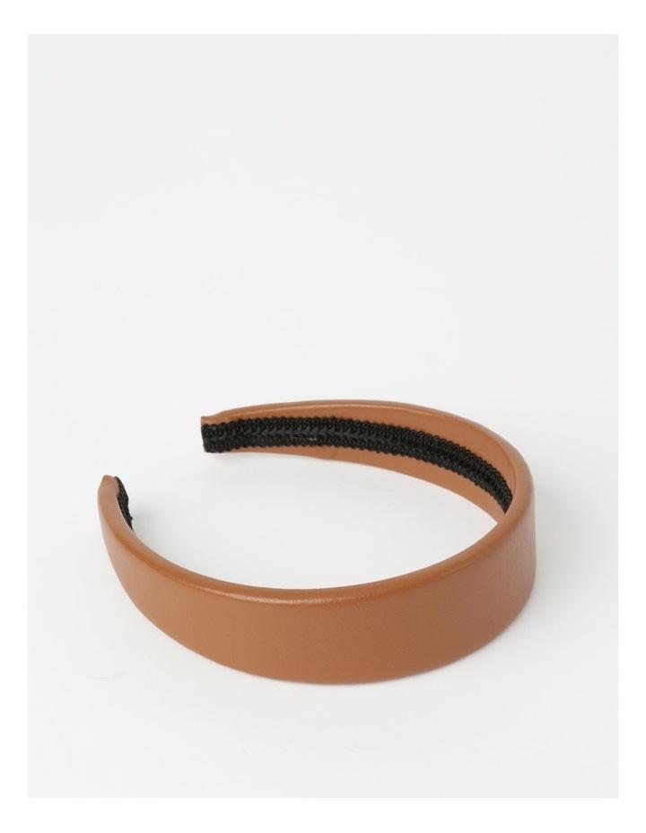 Leather Look Headband Hair Accessory image 2
