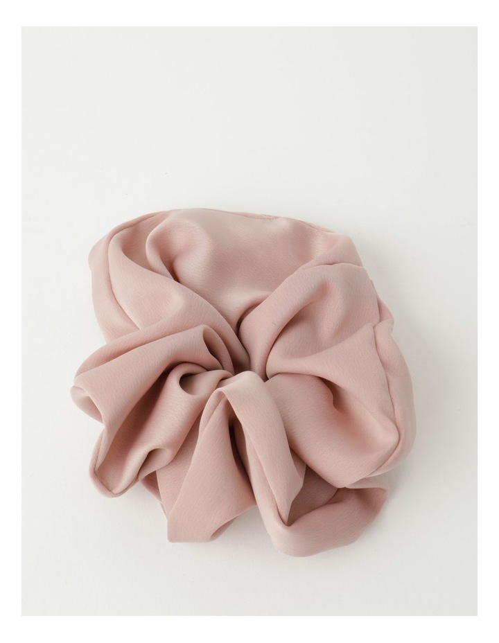 Oversized Blush Scrunchie image 1